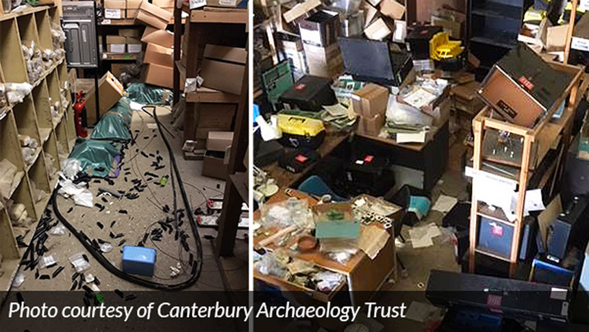 Clearway Protects Canterbury Archaeological Trust After Break-in