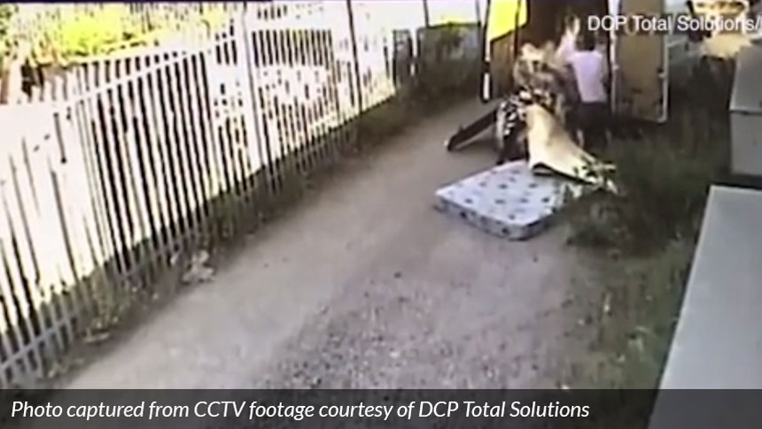Fly-tippers Caught On CCTV