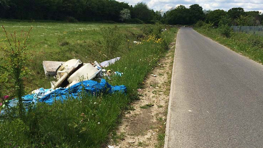 Pensioner Fined For Fly-tipping – Even Though He Didn't Do It!