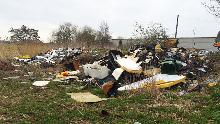 Government Crackdown On Fly-tipping