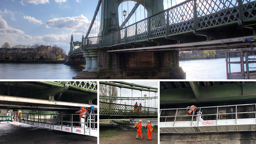 Clearway's Cleaning Of Hammersmith Bridge Reveals Dangerous Structural Damage