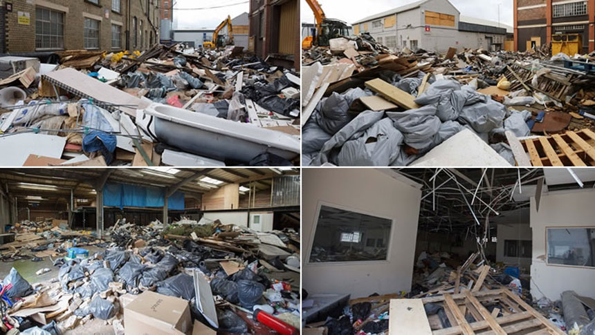 How Much Damage Can Fly-tippers Do In Nine Days?