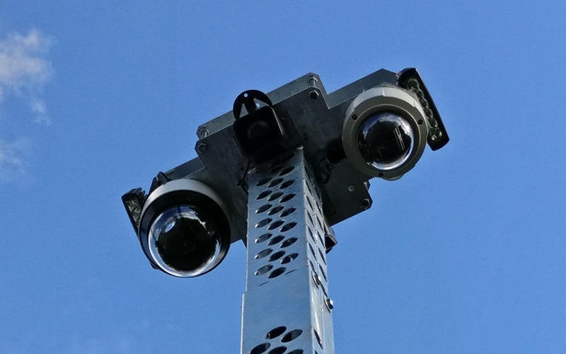 CCTV Tower Camera options