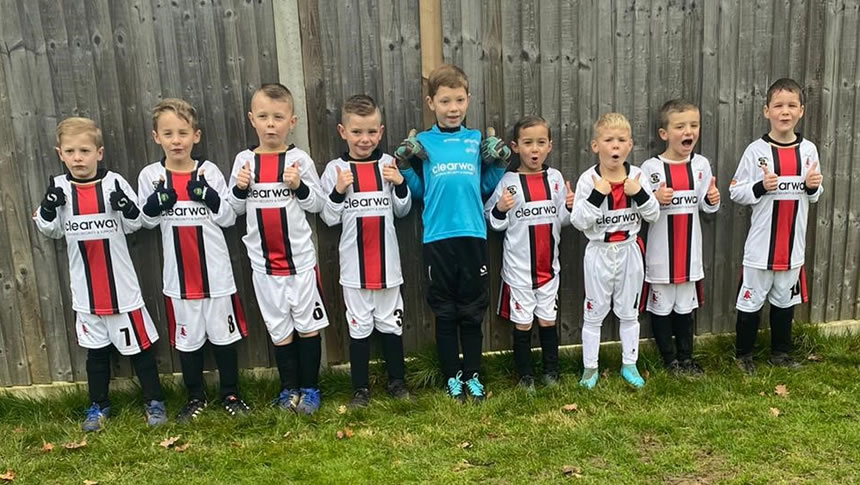Clearway Sponsors Westerham Under 7s Football Club