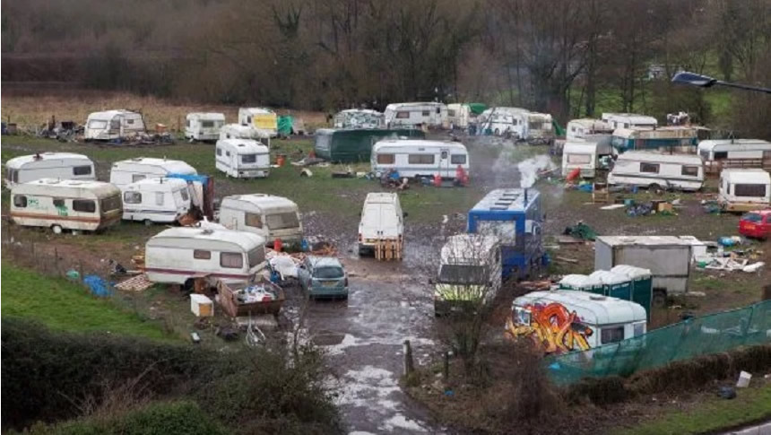 Travelling Caravans And Illegal Encampments – Not In My Back Yard