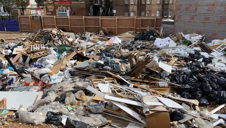 Fly-tipping In The UK